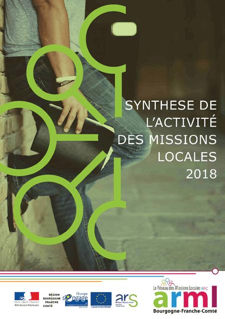 Synthèse de l'activité des Missions Locales de Bourgogne-Franche-Comté 2018