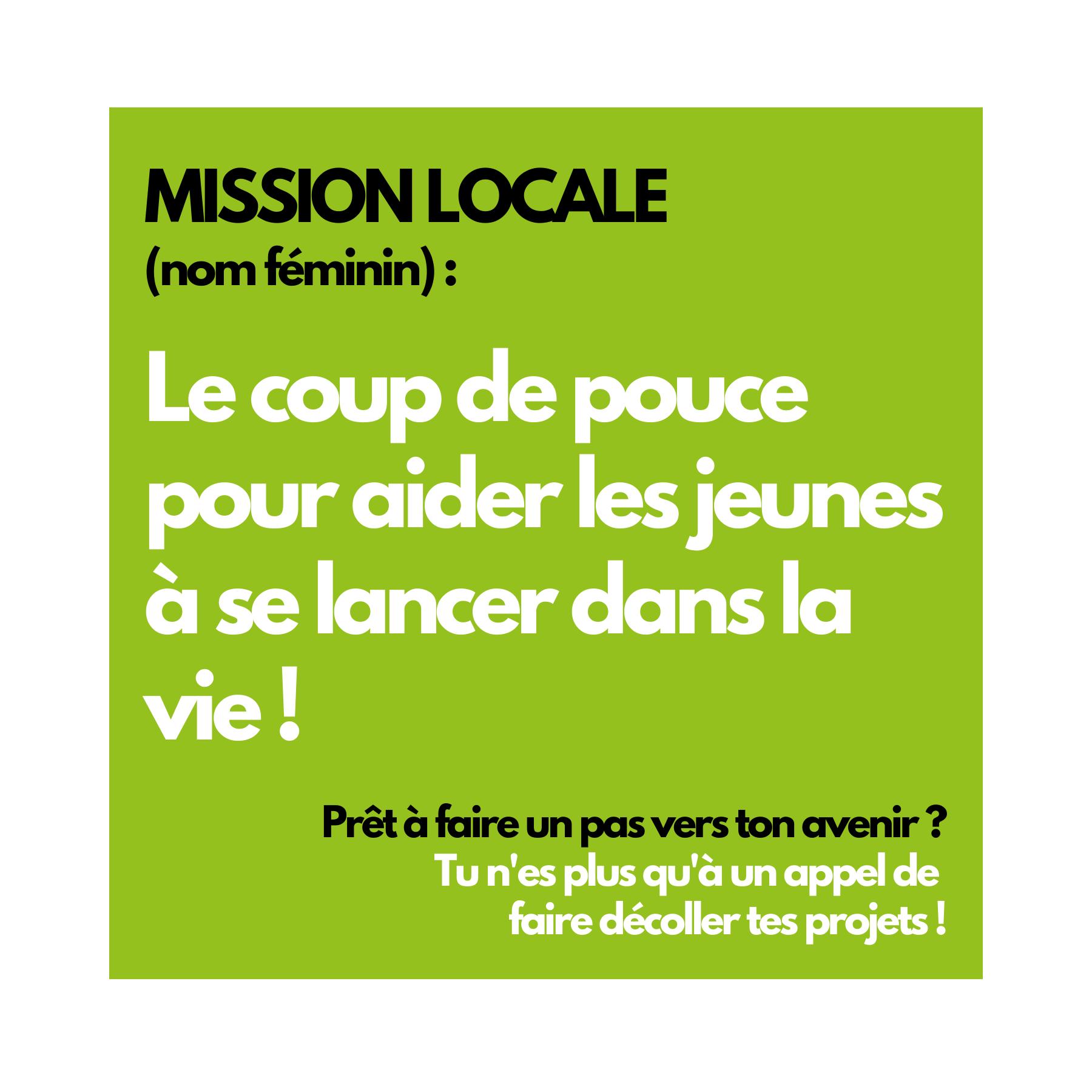 Mission Locale : définition